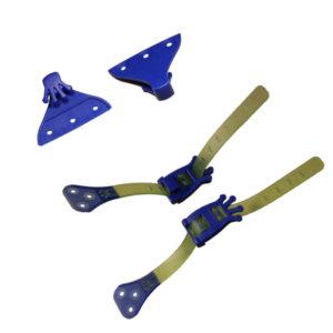 Комплект фиксове за колани за ски GECKO
