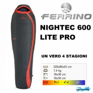 Спален чувал FERRINO NIGHTEC 600