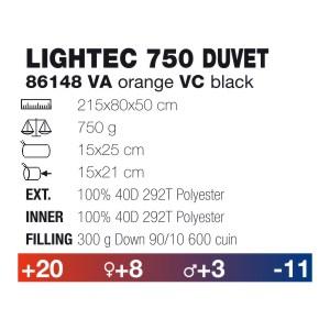 Спален чувал FERRINO LIGHTEC 750