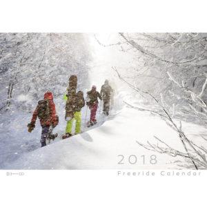 FREERIDE Календар 2018