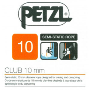 Въже PETZL CLUB 10